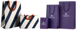 Печать логотипа на бумажном крафт пакете в Мелитополе